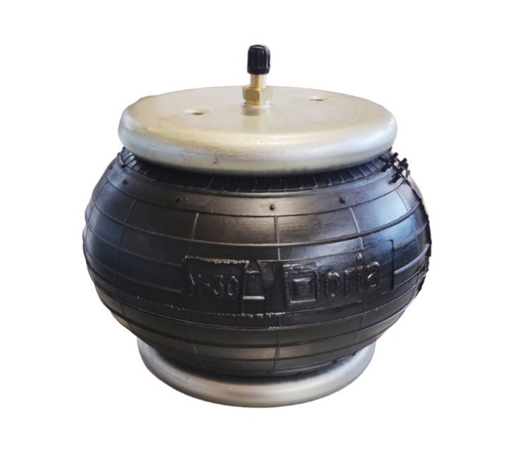 M-30 bellow cylinder with crimped plates and standard rubber