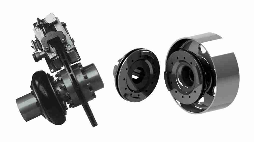 Tyre coupling for brake disc application