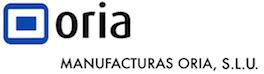 logotipo manufacturas oria